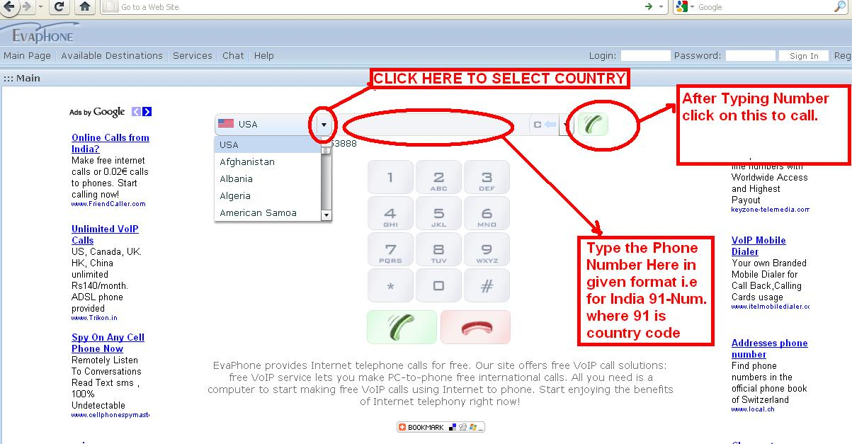 Make Free Phone Calls PC to Mobile or Landline | IT Solution